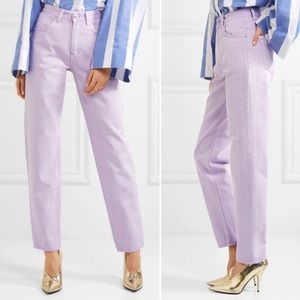 Lavender Straight Leg Jean